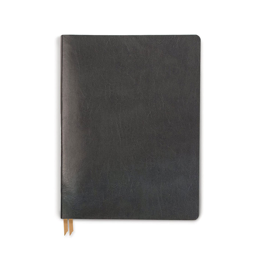 Bonded Leather Journal in Charcoal