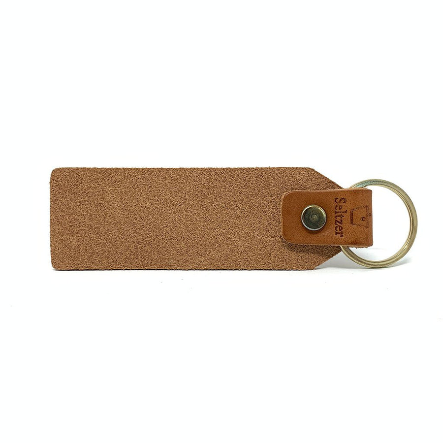 Friends & Beer Leather Keytag