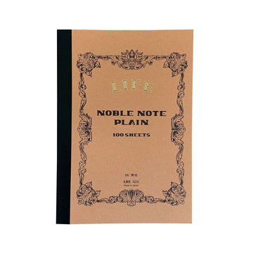 Noble Note Plain Notebook