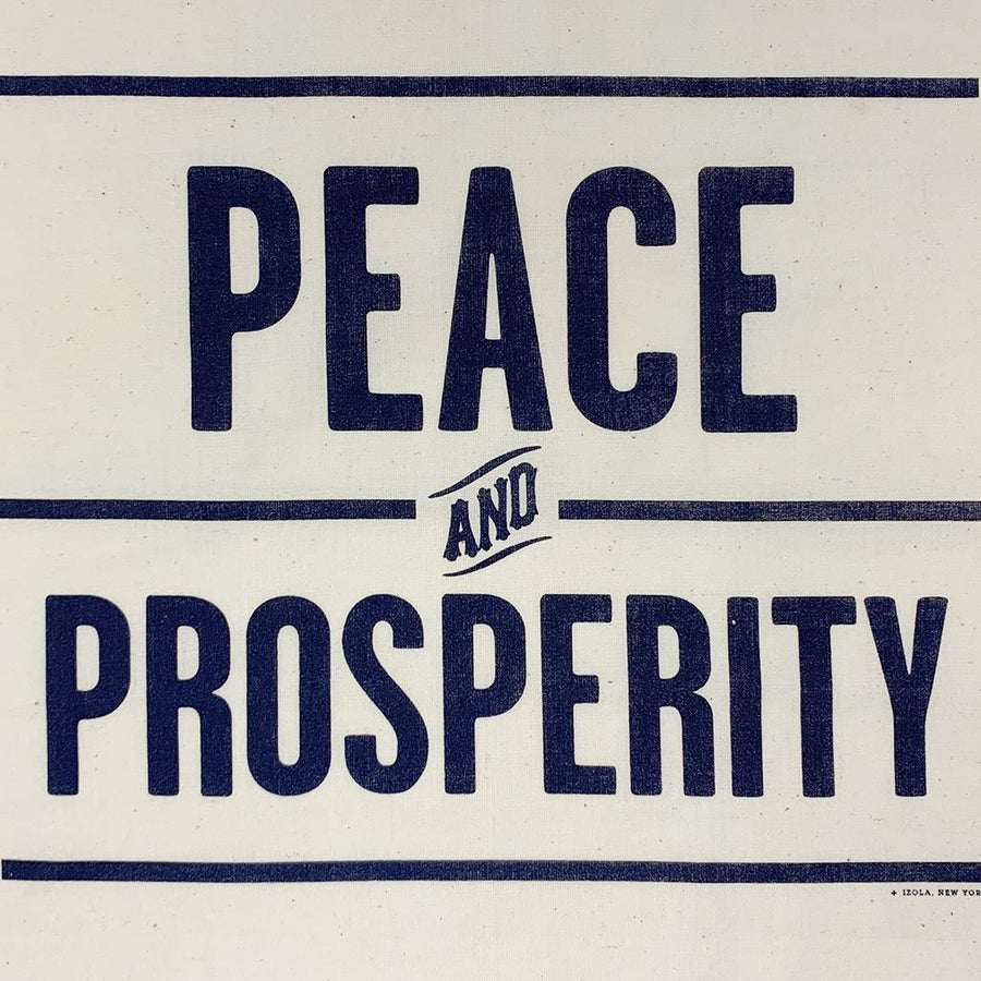 Peace & Prosperity Handkerchief