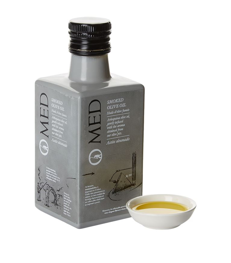 Arbequina Smoked Olive Oil from O-MED | WHYL