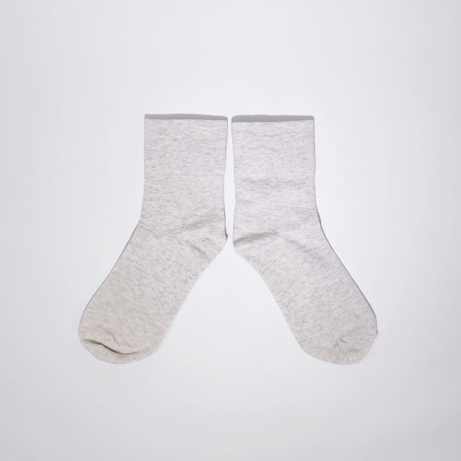 The Sneaker Sock in Oatmeal