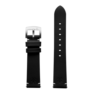 420Waldos Mary Jane Series Black Strap with SS Buckle