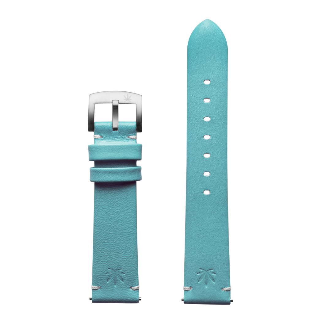 420Waldos Mary Jane Series Light Blue Strap with SS Buckle
