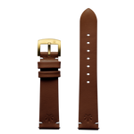 420Waldos Mary Jane Series Brown Strap with IP Gold Plated Buckle