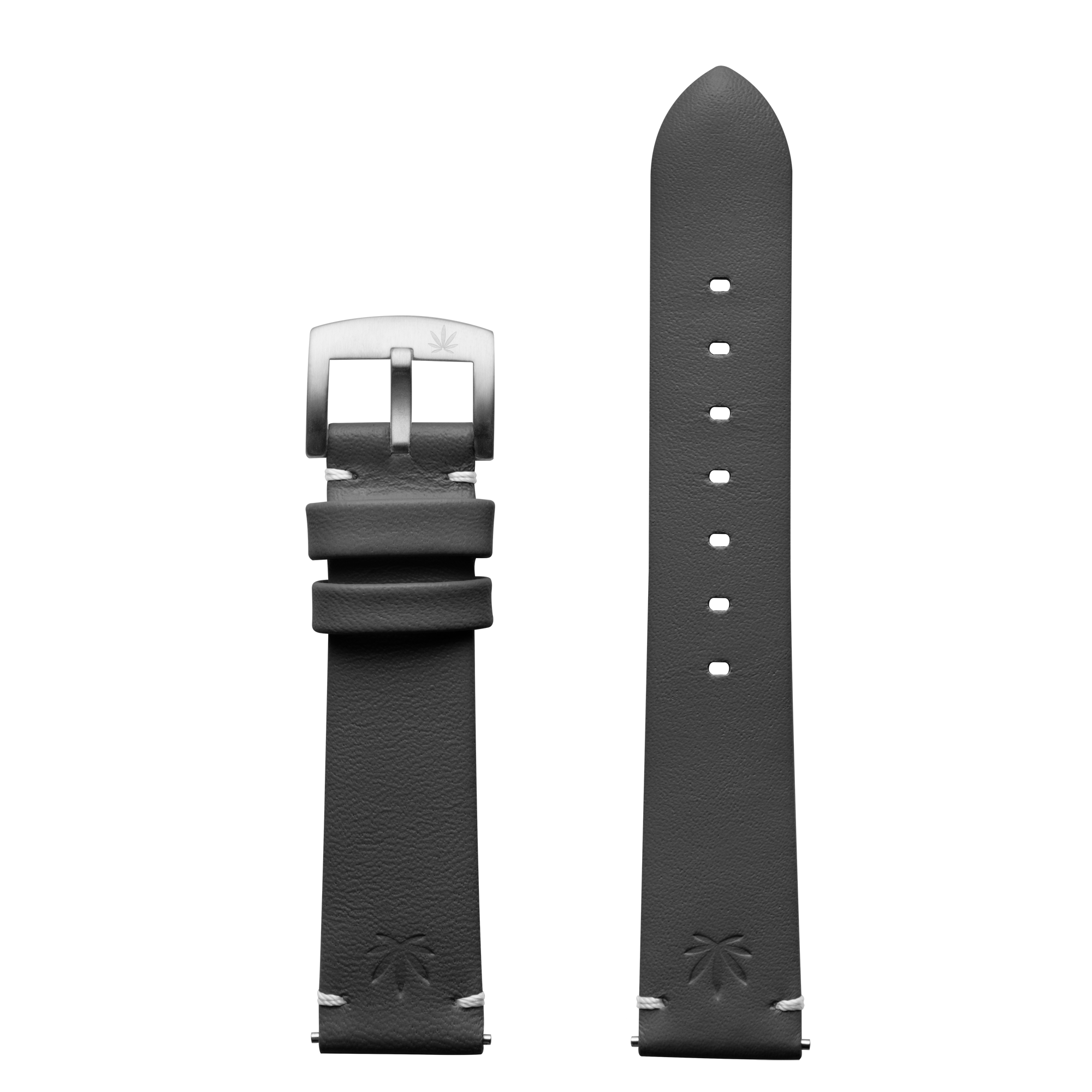 420Waldos Mary Jane Series Dark Gray Strap with SS Buckle