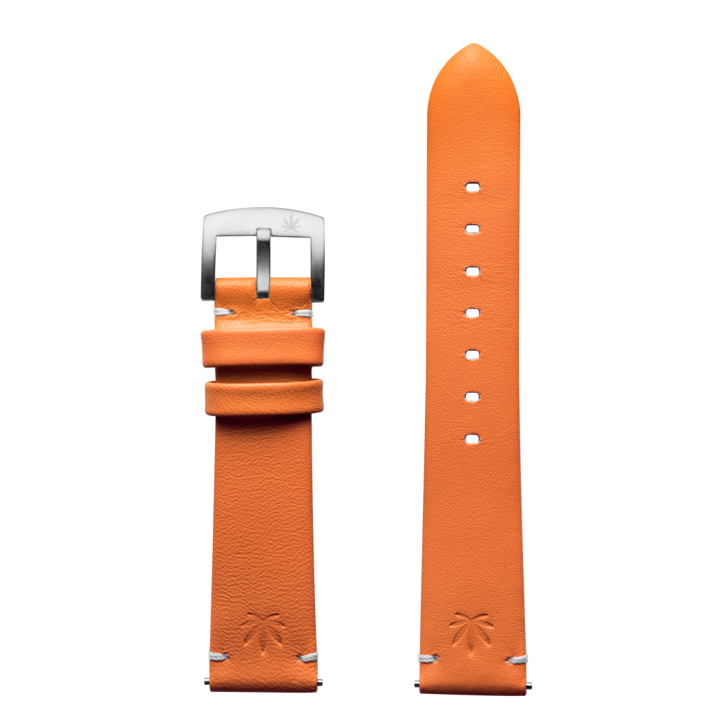 420Waldos Mary Jane Series Orange Strap with SS Buckle