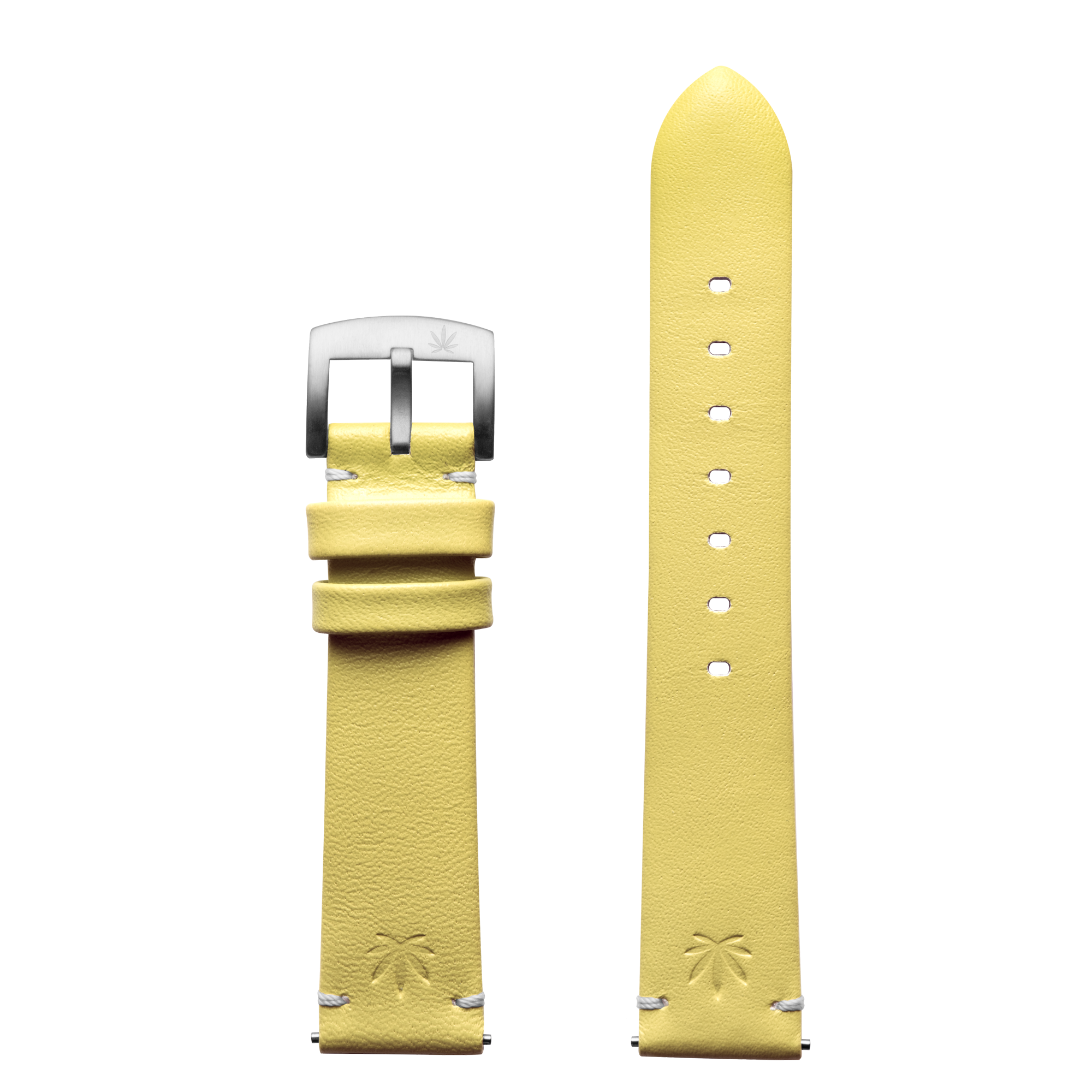 420Waldos Mary Jane Series Light Yellow Strap with SS Buckle