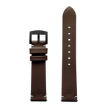 420Waldos Bud Series Dark Brown Strap with IP Black Plated Buckle
