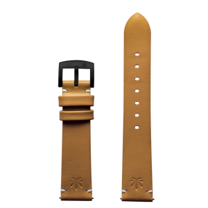 420Waldos Bud Series Tan Strap with IP Plated Black Buckle