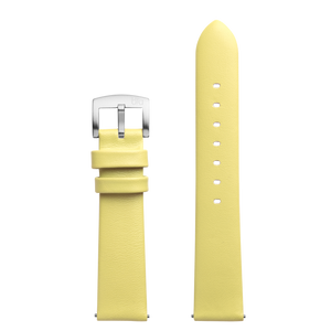 Bia Suffragette Replacement Strap - Yellow Leather