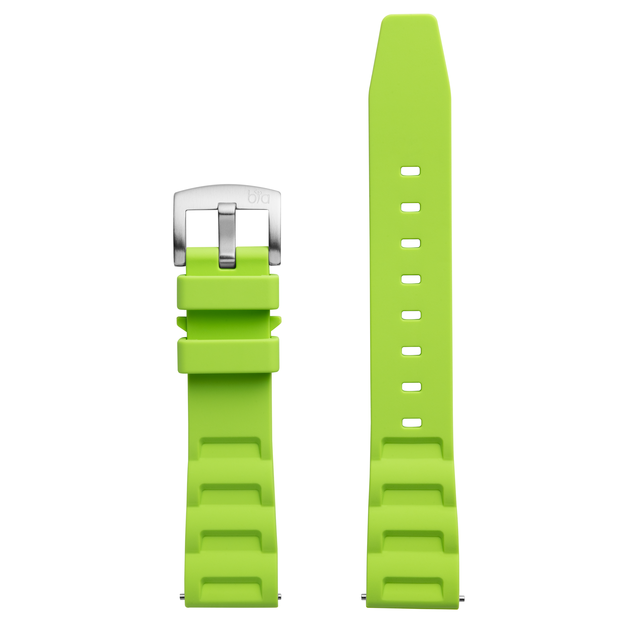 Bia 'Rosie' Dive Light Green Silicone Strap