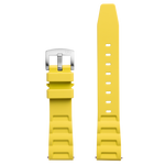 Bia 'Rosie' Dive Replacement Strap - Yellow Silicone