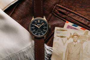 Szanto Heritage Aviator Small Seconds 2753