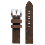 Szanto 22mm Brown Leather Strap/Stainless Steel Buckle - 2700 Series