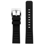 Szanto Icon 22mm Black Rubber Strap/Stainless Steel Buckle - Shane Dorian 5300 Series