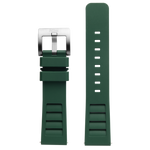 Szanto Icon 22mm Green Rubber Strap/Stainless Steel Buckle - Shane Dorian 5300 Series