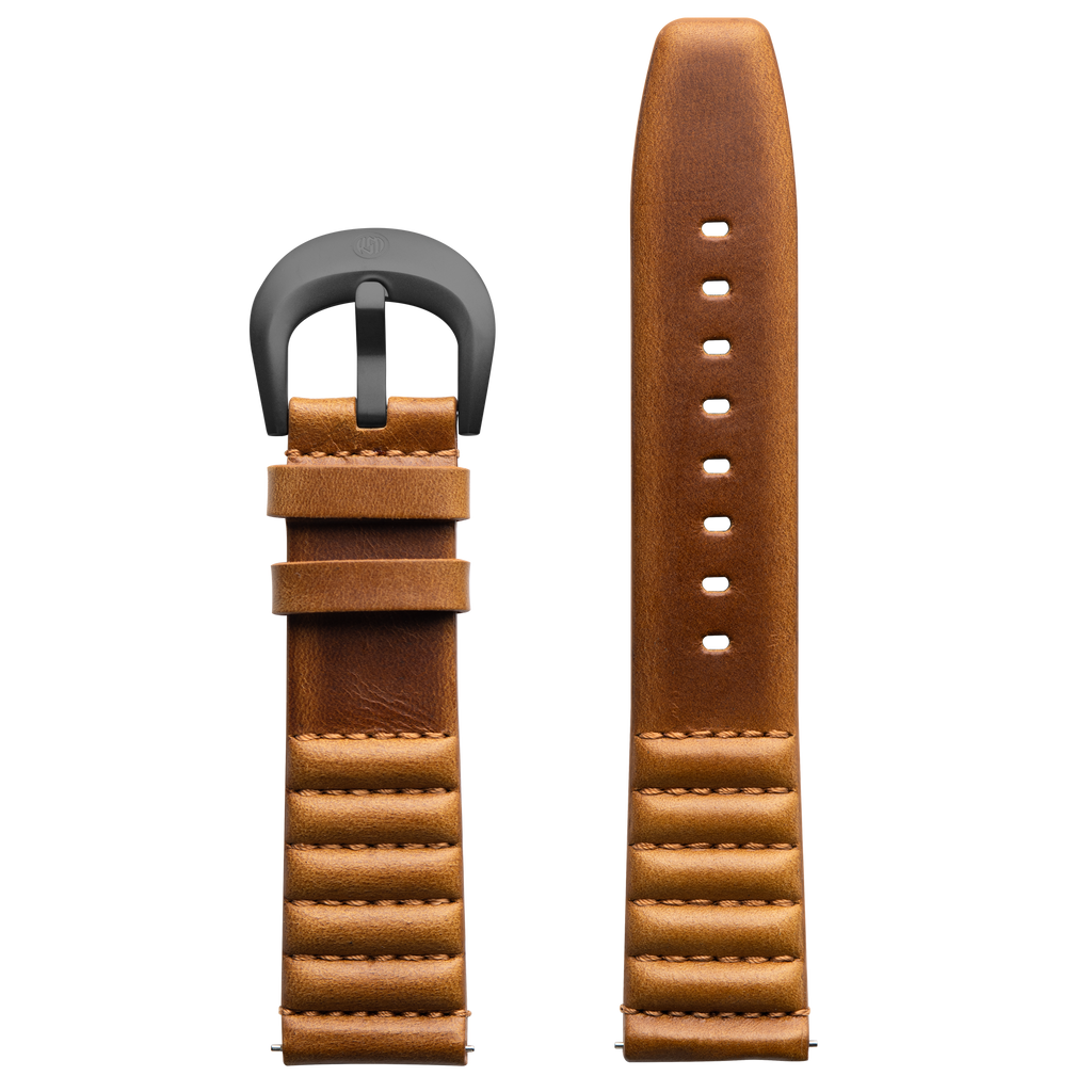 ICON Roland Sands Tan Strap/Gun Gray Buckle