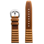 Szanto ICON 22mm Genuine Horween Leather Tan Strap/Steel Buckle - Roland Sands Series