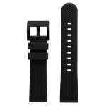 Szanto 22mm Black Rubber Strap/Black Buckle - ICON 3200 Series