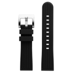 Szanto 22mm Black Rubber Strap/Stainless Steel Buckle - ICON 3200 Series