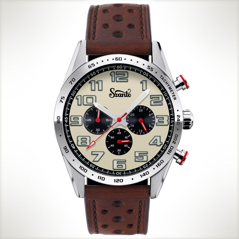 Szanto Motorsport 3003, vintage style watch