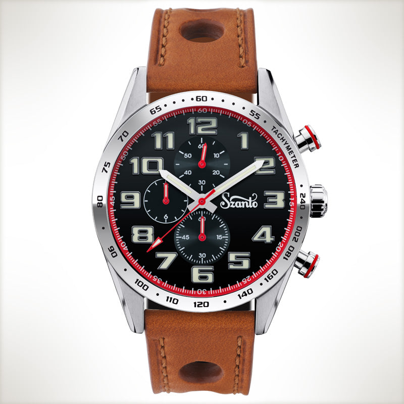 Szanto Motorsport 3101, vintage style watch