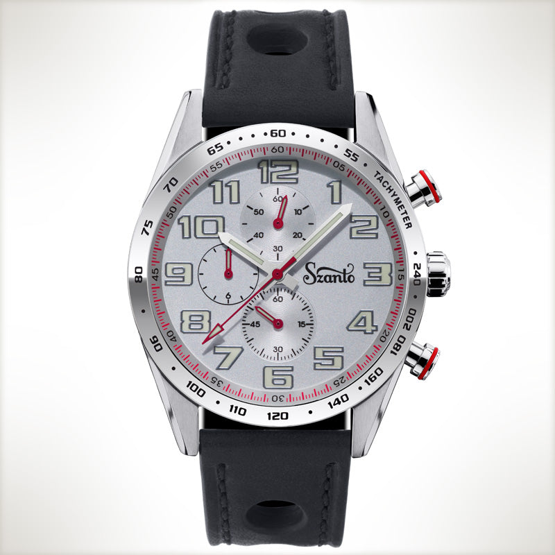 Szanto Motorsport 3102, vintage style watch