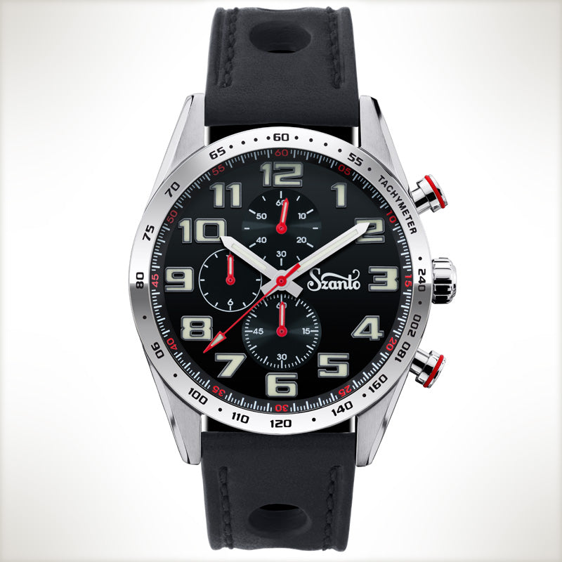 Szanto Motorsport 3103, vintage style watch