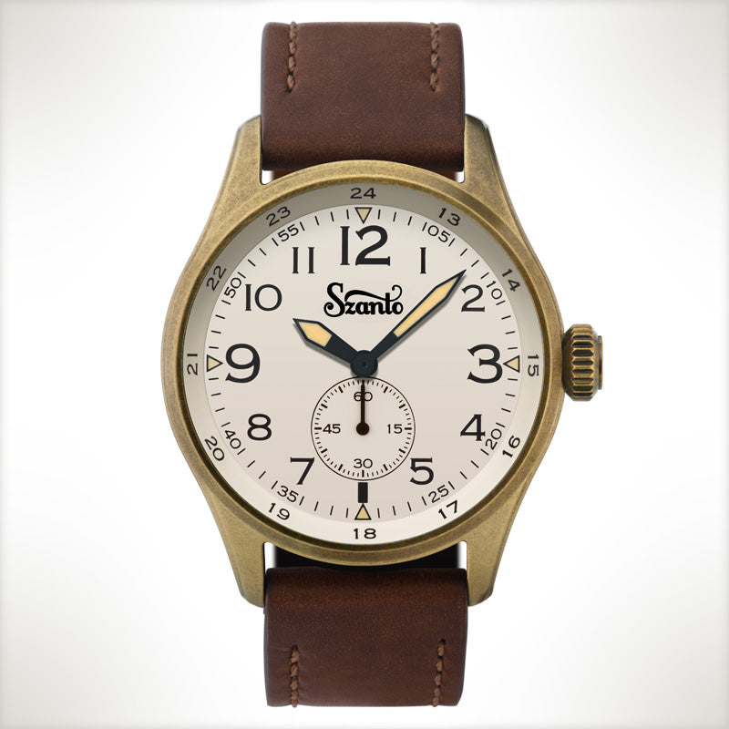 Szanto Desert Sands 4504, vintage style watch