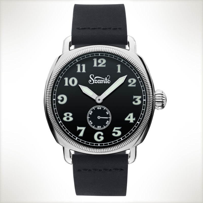 Szanto Coin Cushion 7001, vintage style watch