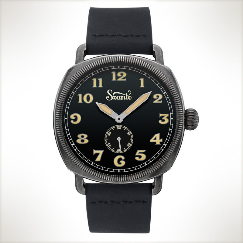 Szanto Coin Cushion 7002, vintage style watch