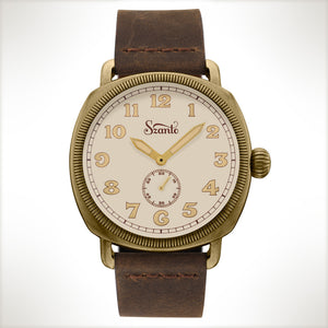 Szanto Coin Cushion 7004, vintage style watch