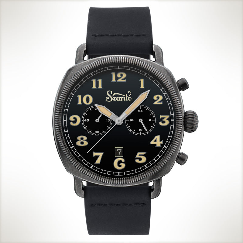 Szanto Coin Cushion 7012, vintage style watch