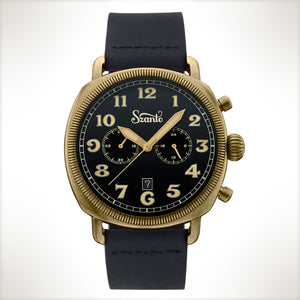 Szanto Coin Cushion 7013, vintage style watch