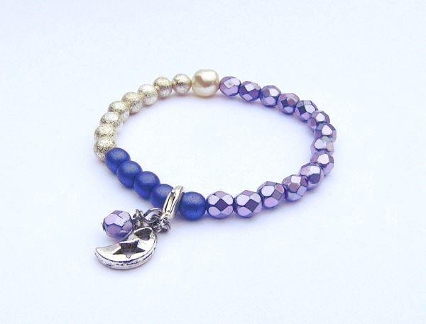 Purple Selene Beads Bracelet™