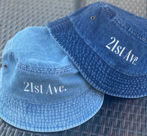 21st Ave. Denim Bucket Hat