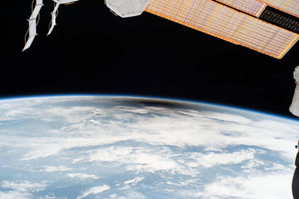 Solar eclipse 2017 from the International Space Station
