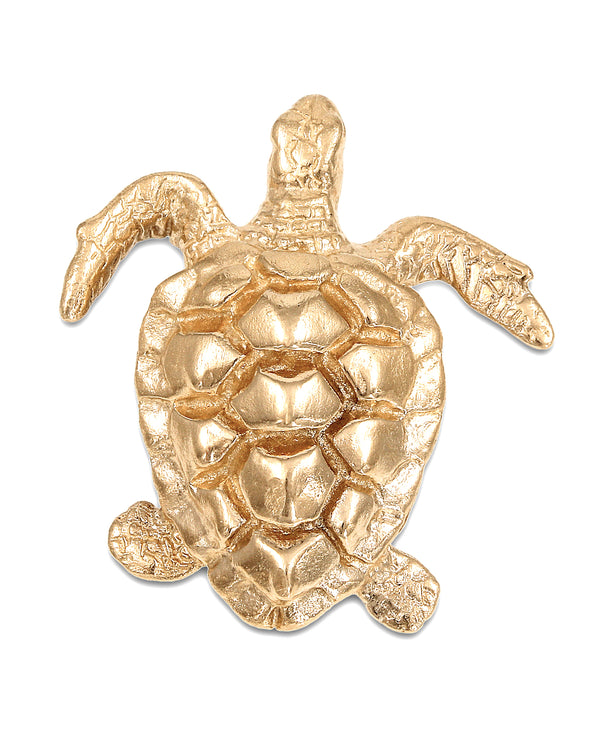 Bold Turtle Necklace