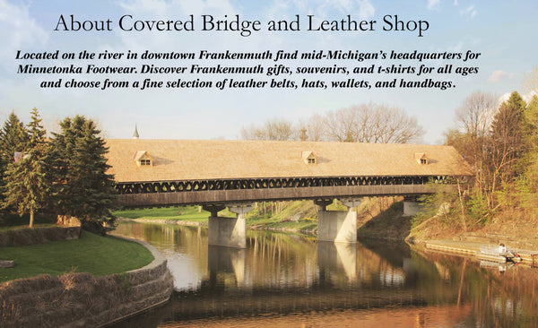 Covered Bridge Gift Shop Located in Frankenmuth Michigan