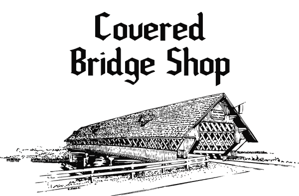 The Covered Bridge and Leather Shop