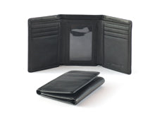 Osgoode Marley RFID Trifold Leather Wallet