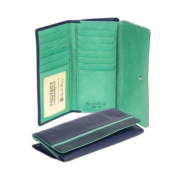 Osgoode Marley RFID Card Case Leather Wallet