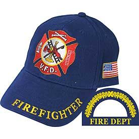 Firefighter Volunteer Cap
