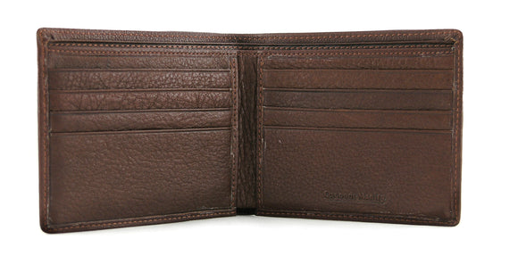 Men's Thinfold 8 Card Slot Leather Wallet