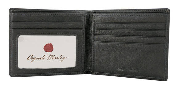 Osgoode Marley Double Slim ID Leather Wallet