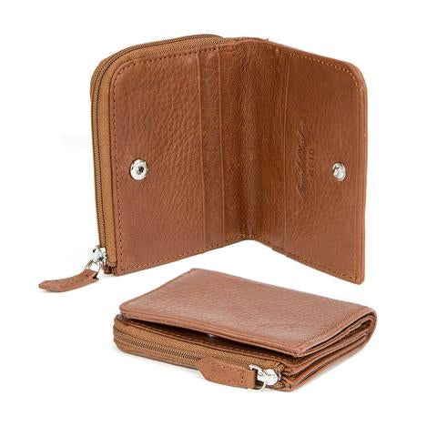 Osgoode Marley Men's RFID Zip Pocket Leather Billfold