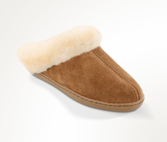Sheepskin Clog Slipper - Tan