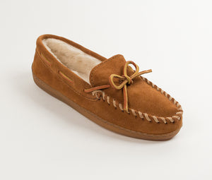 Pile Lined Hardsole - Brown