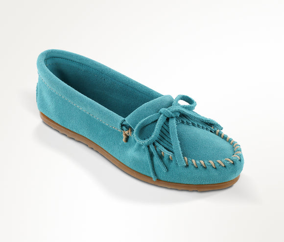Kilty Moccasin - Turquoise